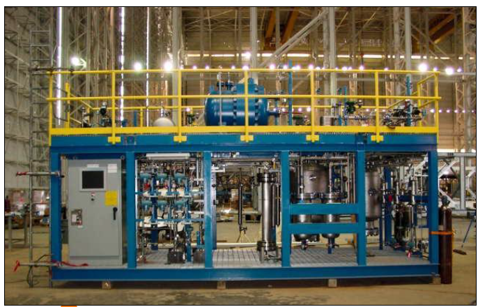 synthetic  Crude oil -Pilot plant